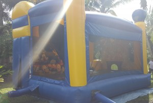 disney bounce house side