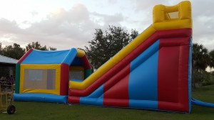Super Combo Bounce House side