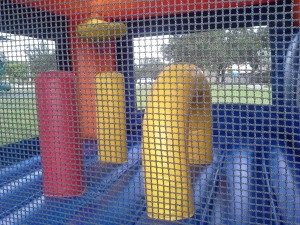 Island Combo Bounce House pop ups