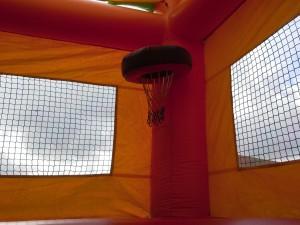Paradise Combo Bounce House hoop
