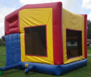 Combo Bounce House rear