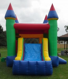 Castle Combo Bounce House slide