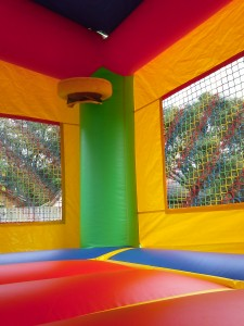 Castle Combo Bounce House hoop