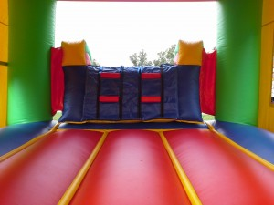 Castle Combo Bounce House inside