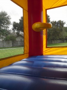 Combo Bounce House hoop