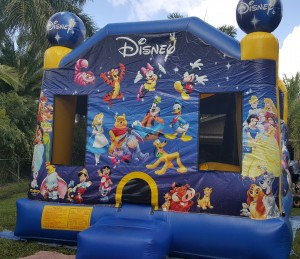disney bounce house front