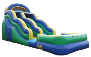Green Wave Water Slide