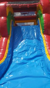 Enchanted Castle Combo Bounce House slide 2