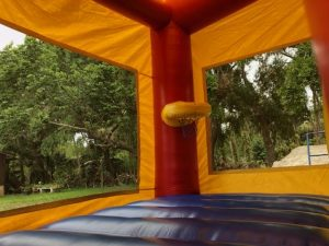 Combo Bounce House inside