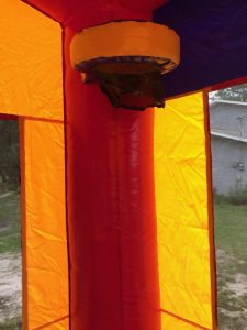 Jr. Combo Bounce House hoop