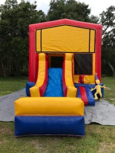 Jr. Combo Bounce House front