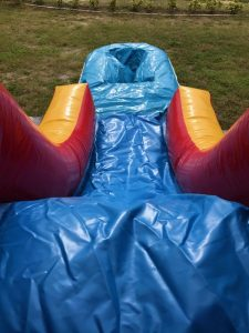 Jr. Combo Bounce House slide w pool
