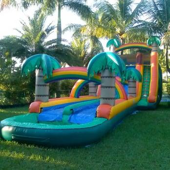 Giant Tropical Inflatable