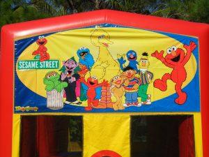 Sesame Street Banner 2
