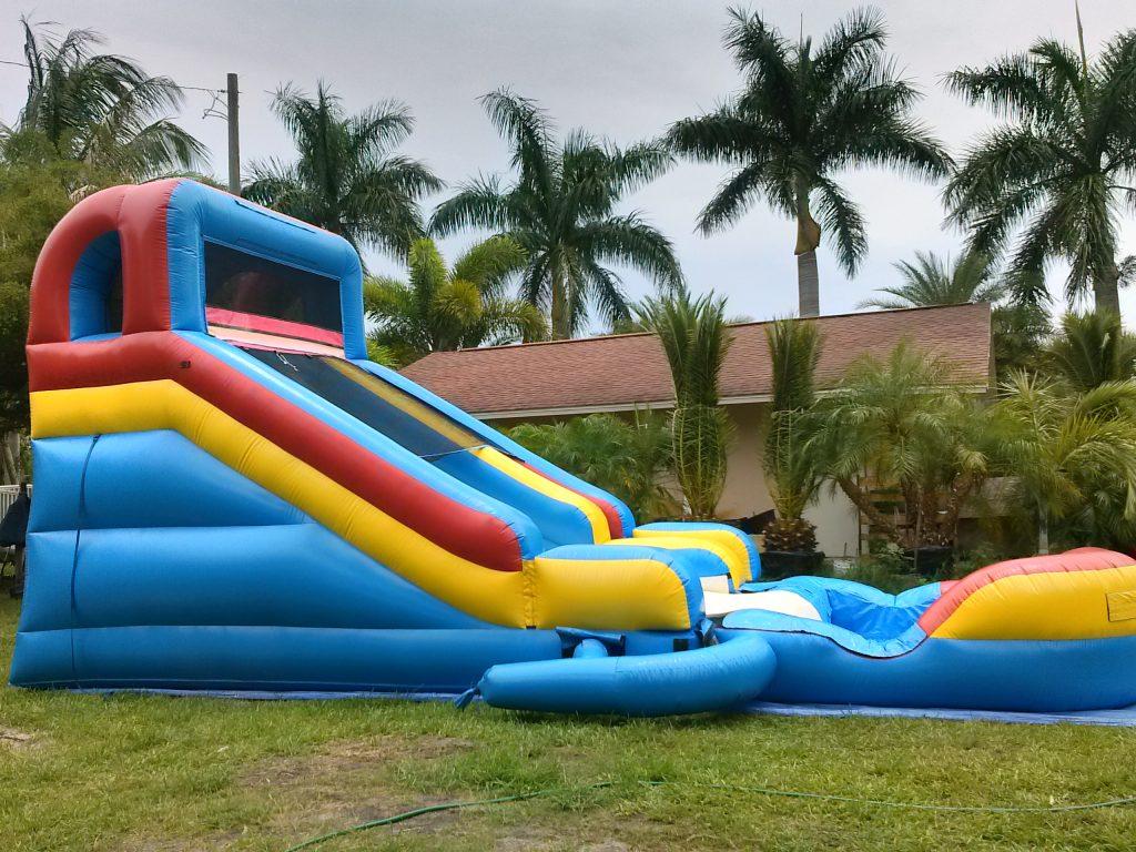 Slide & Splash Water Slide